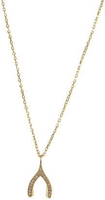 Wild Hearts Make A Wish Necklace Gold
