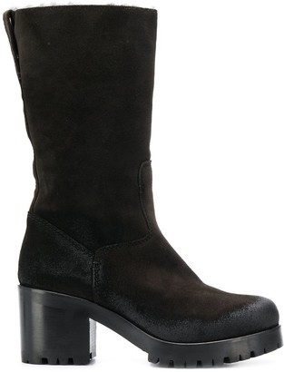 Strategia Ankle Length Heeled Boots