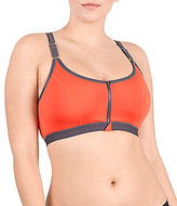 Natori Yogi Wireless Zip-Front High-Impact Sports Bra