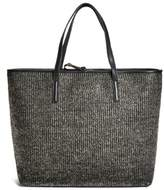 G by Guess Women's Metallic Straw Tote