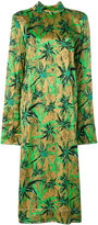 Marni Herbage satin dress