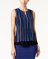 Thalia Sodi Printed Pleated Top, Only at Macy's