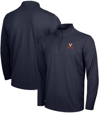 Nike Men's Navy Virginia Cavaliers Intensity Performance Quarter-Zip Jacket