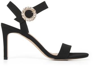 Forever New Kate Diamante Buckle Heels