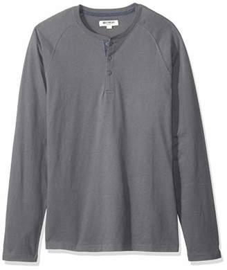 Goodthreads Long-sleeve Sueded Jersey Henley Shirt,(EU M)