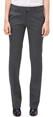 S'Oliver Women's 04.899.73.3181 Trousers,36W x 32L (Size: 36)