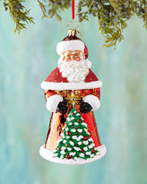 Christopher Radko Crimson Nick Christmas Ornament