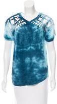 Isabel Marant Tie-Dye Open Knit T-Shirt