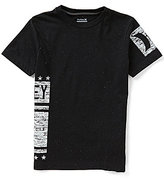 Hurley Big Boys 8-20 Icon Wrap Graphic Tee