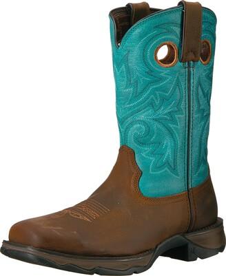 Durango Women's DWRD022 Western Boot Brown/Turquoise 6 M US