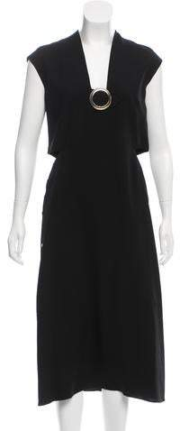Derek Lam Cutout Silk Dress w/ Tags