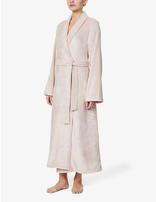 Eberjey Chalet plush woven dressing-gown