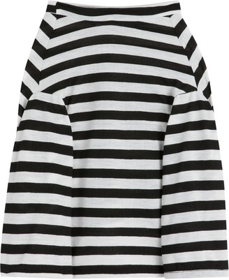 Petements pet long-sleeved striped T-shirt