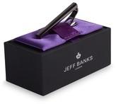 Jeff Banks Flash Gunmetal Tie Bar