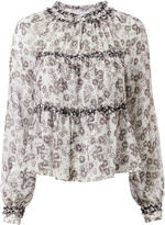 Exclusive for Intermix Ellie Printed Top Pri-Floral P