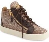 Giuseppe Zanotti 'May London' High Top Sneaker (Women)