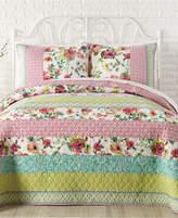 Jessica Simpson Boho Garden Cotton King Quilt Bedding