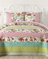 Jessica Simpson Boho Garden Cotton Quilt and Sham Collection