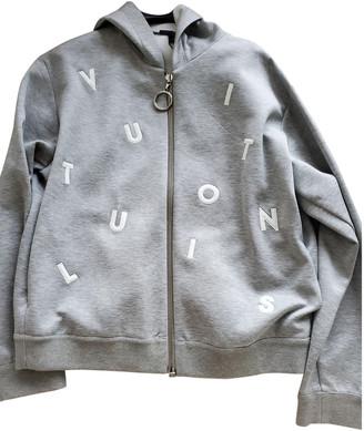 Louis Vuitton Grey Cotton Knitwear