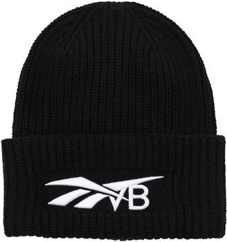 Reebok x Victoria Beckham Embroidered Wool & Cashmere Knit Beanie