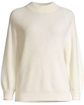 HUGO BOSS Flaura Balloon-Sleeve Sweater