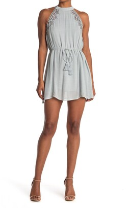 Lost + Wander Tiffany Embroidered Shift Dress