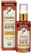Badger Organic Seabuckthorn Hair Oil by 2oz Oil)