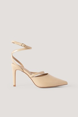 NA-KD Ankle Straps Pointy Pumps