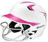 Easton Senior Z5 2Tone Batters Helmet with SB Mask, White/Pink