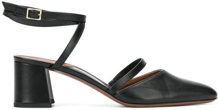 L'Autre Chose multiple strap 65mm sandals