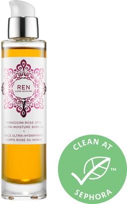 Ren Skincare Moroccan Rose Otto Ultra-Moisture Body Oil