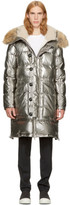 Moncler Silver Down Inuit Jacket