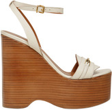 Bally 140mm Climmy Leather Wedges