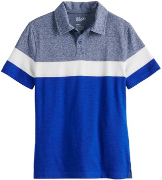 Urban Pipeline Boys 8-20 & Husky Striped Polo