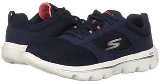 Skechers Performance Go Walk Evolution Ultra - 15734 (Navy/Coral) Women's Shoes