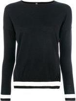 Eleventy striped knit jumper - women - Silk/Merino - XS