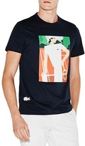 Lacoste Vintage Ad Graphic Tee