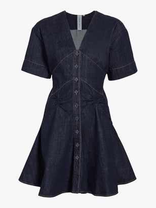 Carven Denim Dress