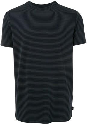 Emporio Armani striped basic T-shirt