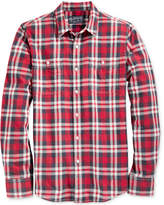American Rag Men's Washed Plaid Shirt, Only at Macy's