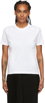 Burberry White Dovey T-Shirt
