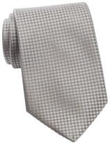 Calvin Klein Silk Modern Gingham Tie