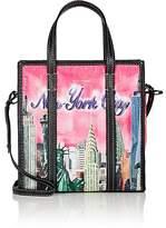 Balenciaga Women's Bazar Arena Leather Small Shopper Tote Bag