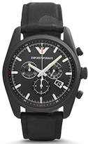 Emporio Armani Men's Sport AR6051 Leather Swiss Quartz Watch