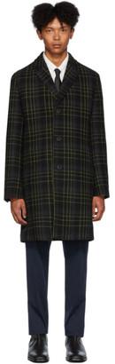 HUGO Black Check Malte 1941 Coat