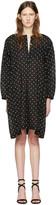 Etoile Isabel Marant Black Polka Dot Makya Dress
