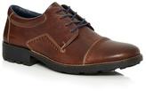 Rieker Brown Toe Cap Lace Up Shoes