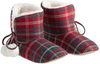 Pottery Barn Lynbrook Plaid Booties