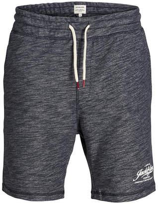 Jack and Jones Men Melange Style Sweat Shorts