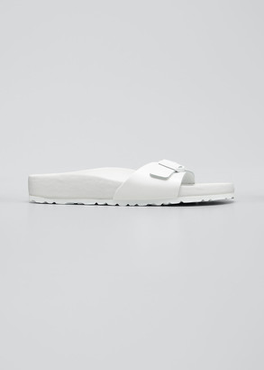 Birkenstock Madrid Tonal Single Buckle Slide Sandals
